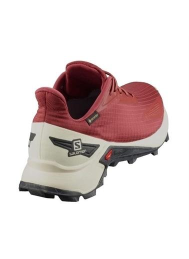 Salomon Alphacross Blast Gtx Kadın Koşu Ayakkabısı Bordo